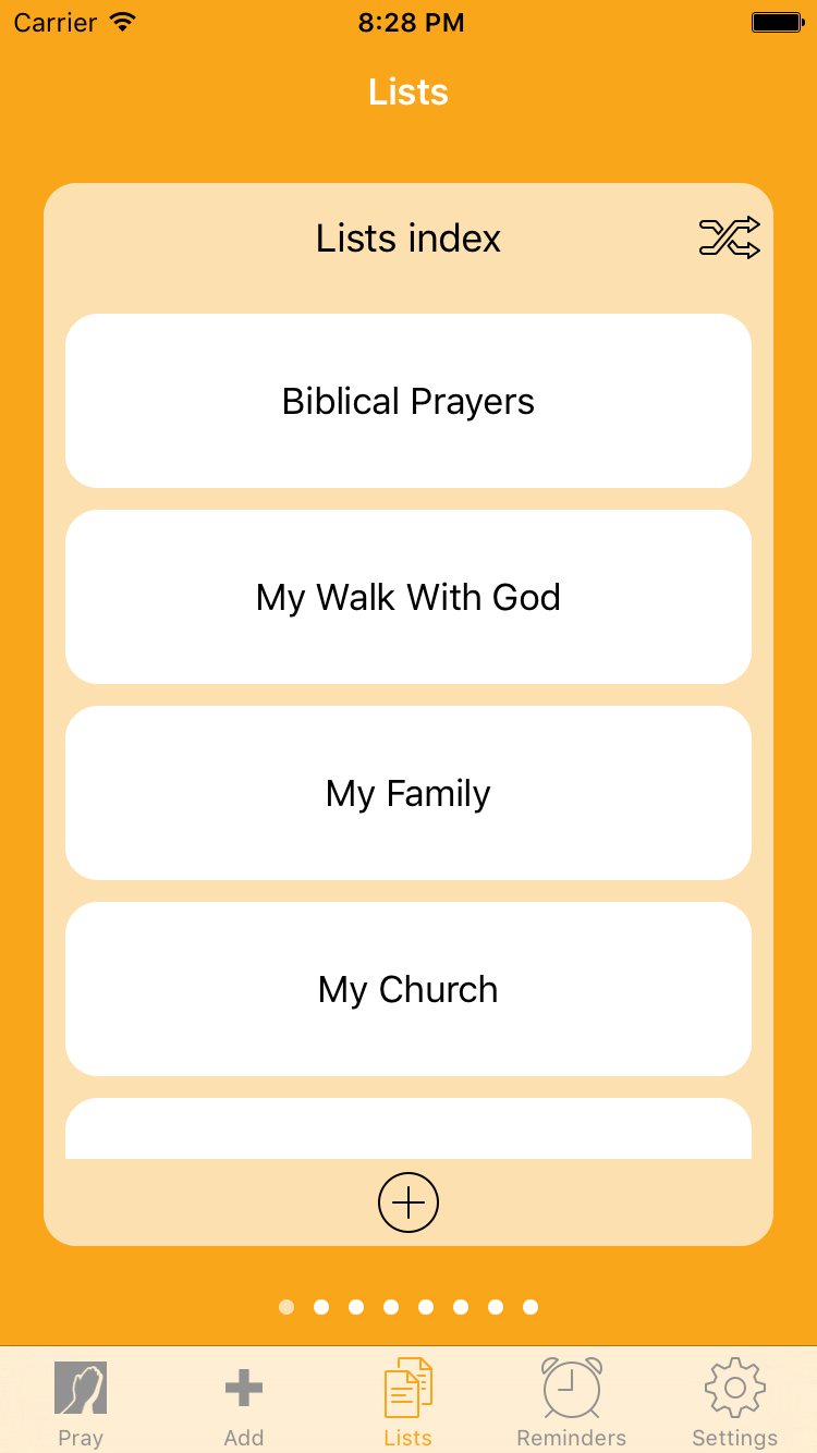 PrayerMate Screenshot